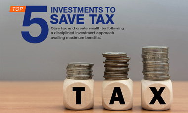 Top 5 Investments to Save Tax