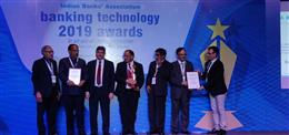 "Best Technology Bank of the year - Winner – ""Baroda Rajasthan Gramin Bank, at the IBA Banking Technology 2019 Awards Function, held at St. Reges, Mumbai"