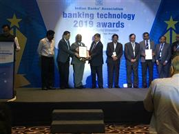 "Bank of Baroda received Runners Up award for ""Best Payment Initiatives"", at the IBA Banking Technology 2019 Awards Function, held at St. Reges, Mumbai."