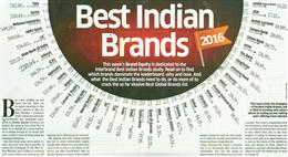 Bank of Baroda Ranked 21st amongst Best Indian Brands 2016 in Brand Equity – The Economic Times