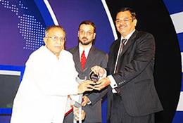"Bank of Baroda receives ""Bank of the year"" Award"