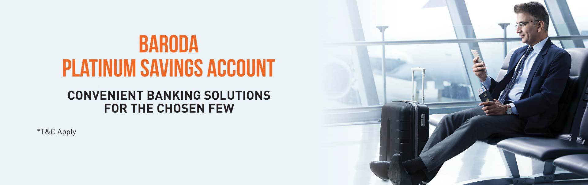 Baroda Platinum Saving Bank Account