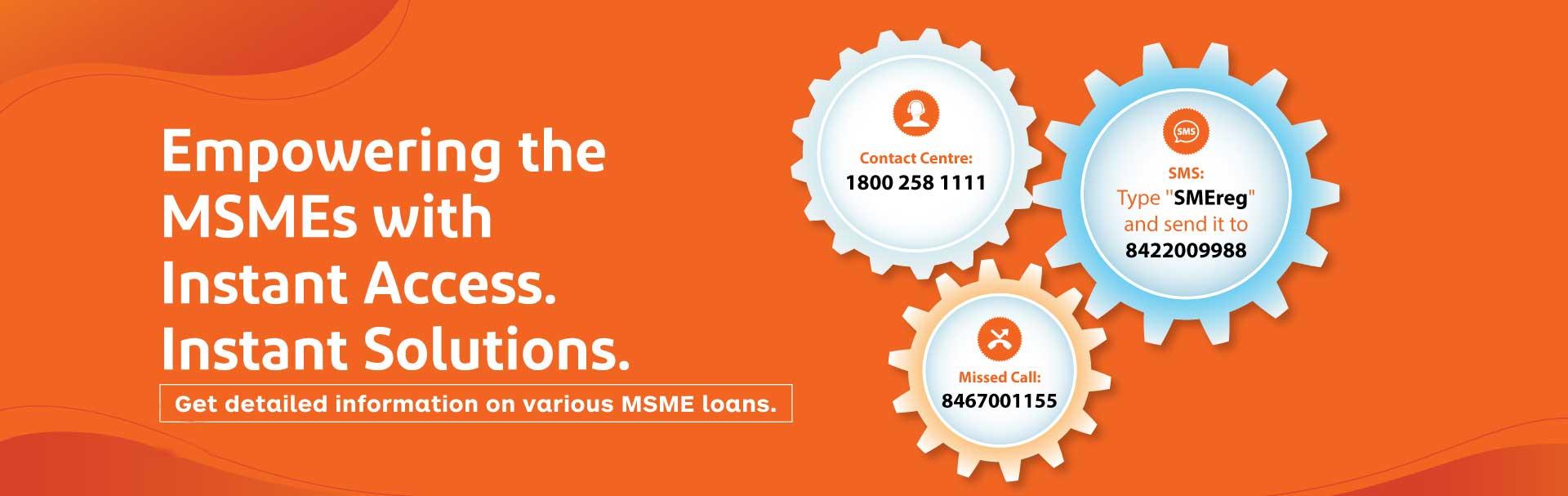 MSME banking