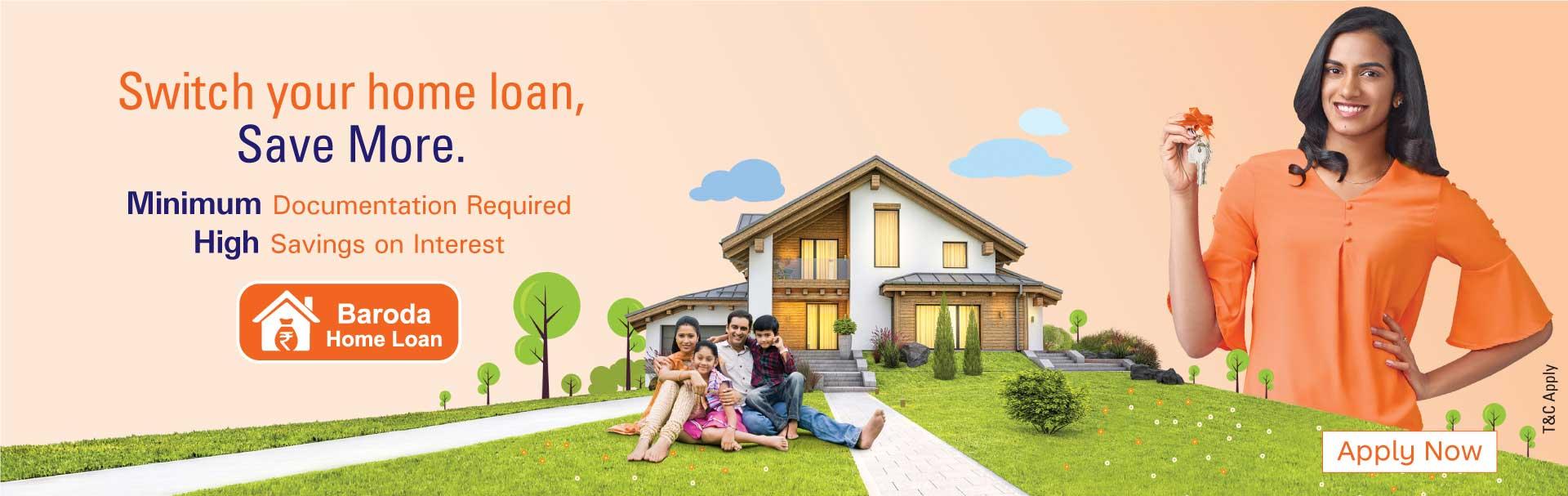 Baroda Home loan Take over scheme