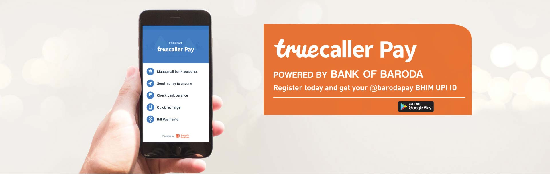 Transfer Funds with Truecaller Pay