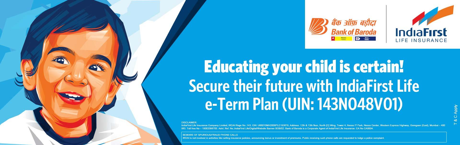 IndiaFirst Life Insurance Company Limited Education E-Term Plan