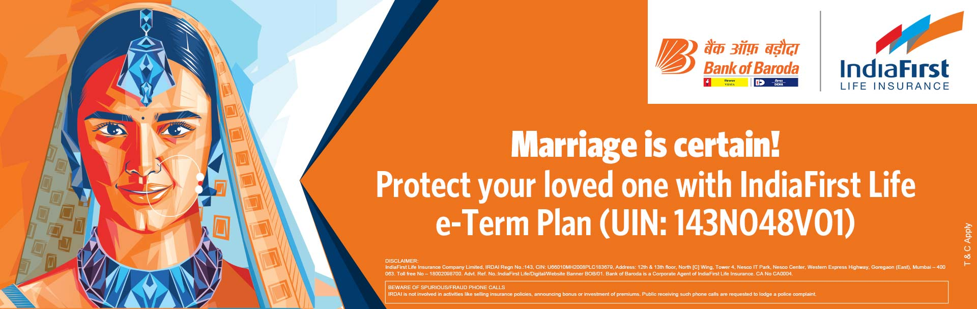 IndiaFirst Life Insurance Company Limited Marriage E-Term Plan