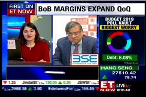 Bank of Baroda MD & CEO Shri P S Jayakumar in talks with ET Now