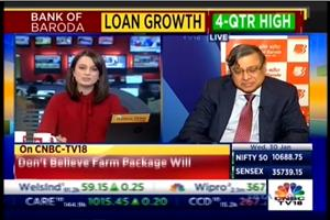 Bank of Baroda MD & CEO Shri P S Jayakumar in talks with CNBC TV18