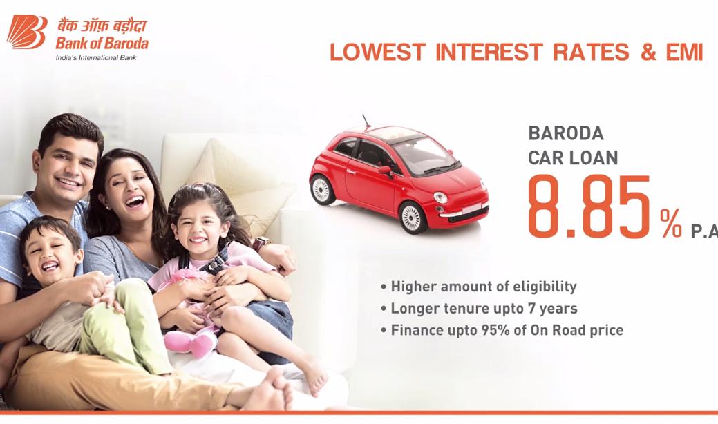 Baroda Car Loan