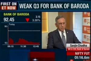 Bank of Baroda | Shri Sanjiv Chadha, MD & CEO in an interview with ET Now