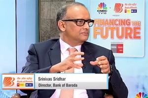 Bank of Baroda | Shri Srinivasan Sridhar in an interview with CNBC TV 18