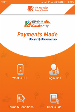 BHIM Baroda Pay (UPI App) Screenshot