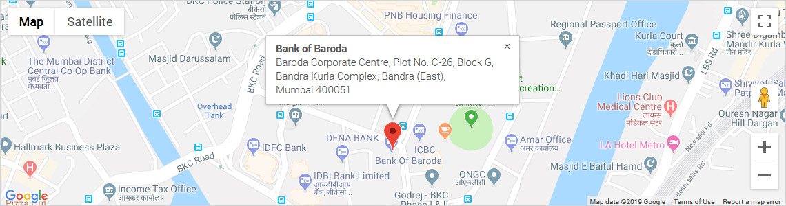 Contact Us for India's & Overses Offices - Bank of Baroda