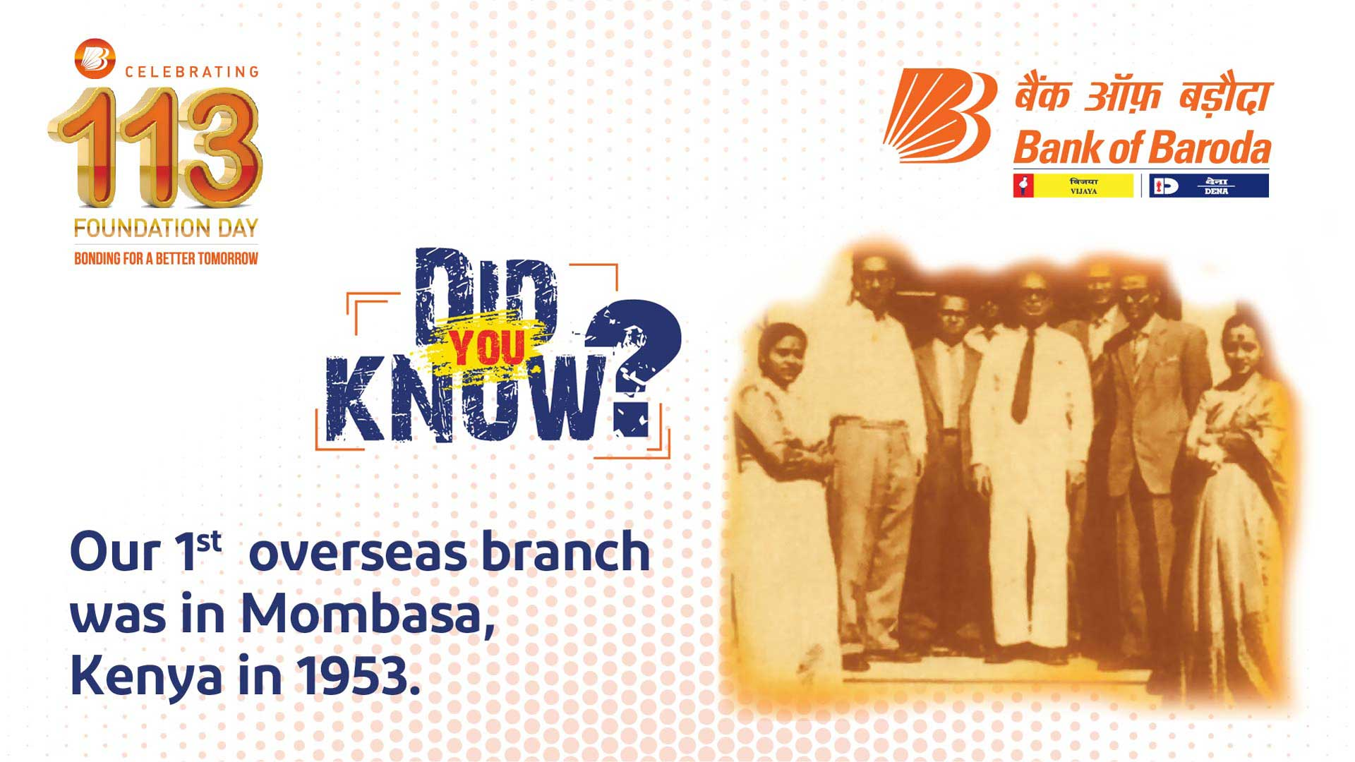 Did You Know? - Bank of Baroda was the first brand as National Supporter of FIFA U-17 World Cup India 2017