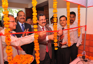 Inauguration of Urban Financial Inclusion Kiosk in Delhi