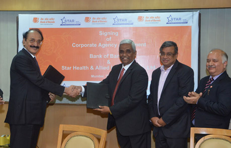 "Bank of Baroda tie up with ""Star Health Insurance"""