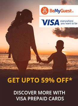 Get Upto 59% off - Discover More with Visa Prepaid Cards
