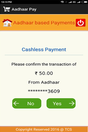 Confirm Transaction